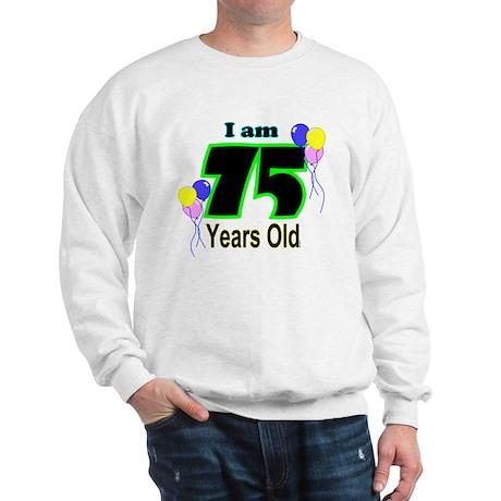 75th Birthday Sweatshirt