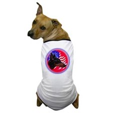 Manchester with flag Dog T-Shirt