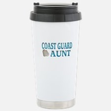 coast guard aunt Stainless Steel Travel Mug