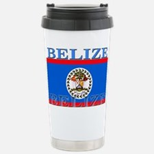 Belize Belizean Flag Stainless Steel Travel Mug