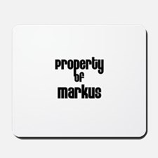 Property of Markus Mousepad