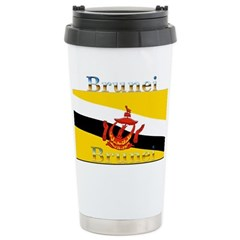 Brunei Flag Travel Mug