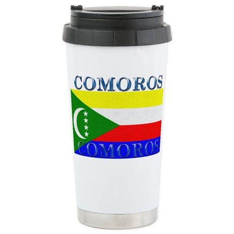 Comoros Stainless Steel Travel Mug