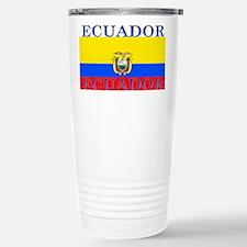 Ecuador Ecuadorian Flag Travel Mug