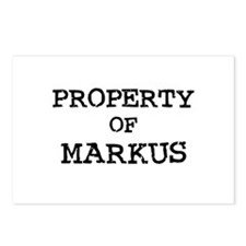 Property of Markus Postcards (Package of 8)