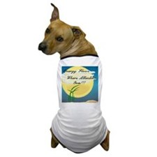 Energy Flows Where Attention Dog T-Shirt