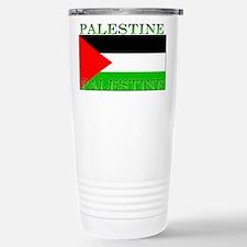 Palestine Palestinian Flag Stainless Steel Travel