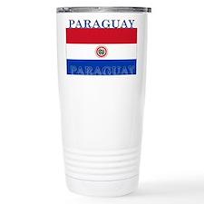 Paraguay Paraguayan Flag Thermos Mug