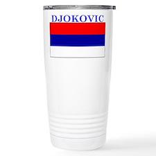 Djokovic Serbia Serbian Thermos Mug