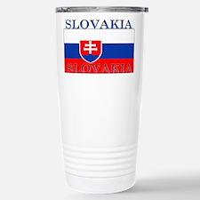 Slovakia Slovak Flag Travel Mug