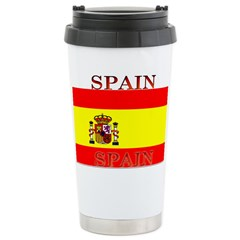 Spain Spanish Flag Travel Mug