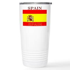 Spain Spanish Flag Travel Mug