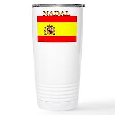 Nadal Spain Spanish Flag Travel Mug