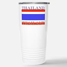 Thailand Thai Flag Stainless Steel Travel Mug