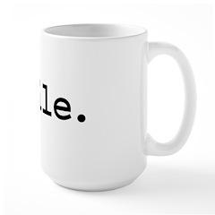 smile. Large Mug