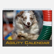 Agility Dog Tire Jump Wall Calendar II