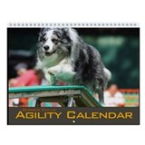 Agility border collie Calendars