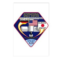 STS-127 Payload Postcards (Package of 8)