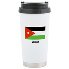 Jordan Jordanian Flag Travel Mug