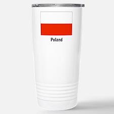 Poland Polish Flag Travel Mug
