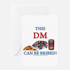 DM - Bribe Greeting Card