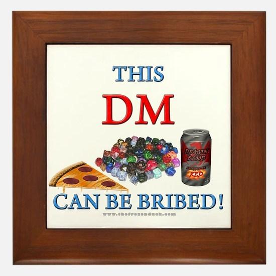 DM - Bribe Framed Tile