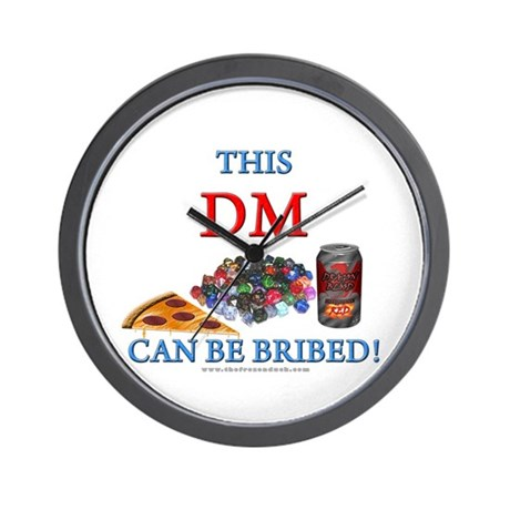 DM - Bribe Wall Clock