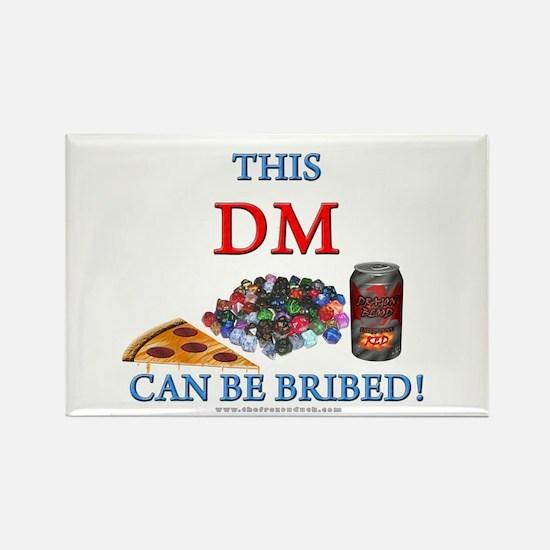 DM - Bribe Rectangle Magnet