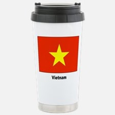 Vietnam Flag Travel Mug