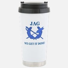 JAG WE GET IT DONE Stainless Steel Travel Mug