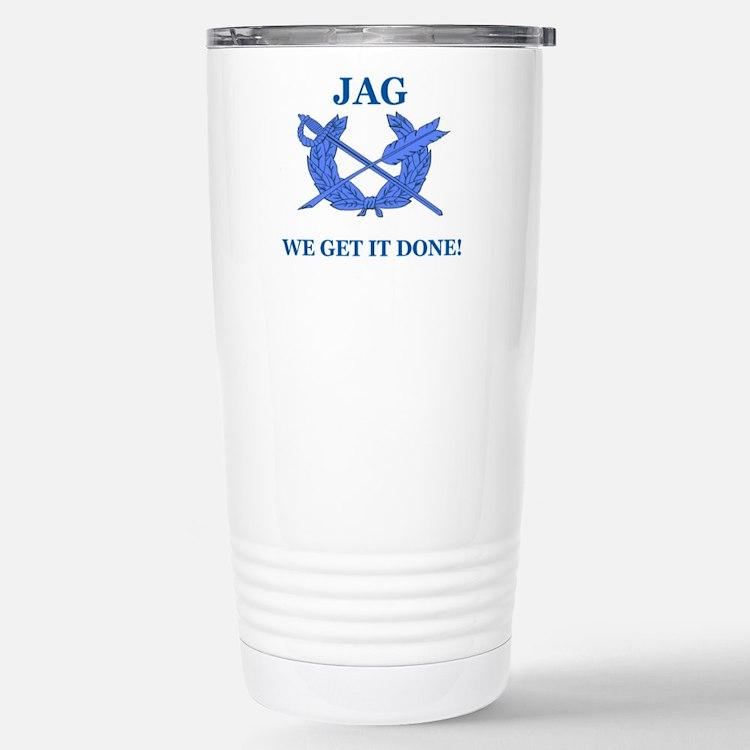 JAG WE GET IT DONE Travel Mug