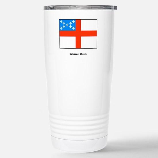 Episcopal Church Flag Stainless Steel Travel Mug