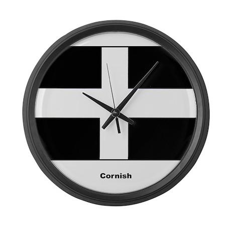 Cornish Cornwall Flag Large Wall Clock