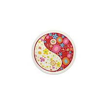 Yin Yang Mini Button