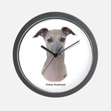 Italian Greyhound 9K75D-11 Wall Clock