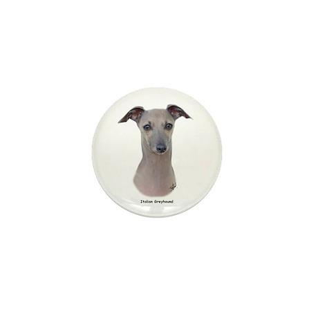 Italian Greyhound 9K75D-11 Mini Button