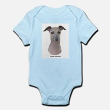 Italian Greyhound 9K75D-11 Infant Bodysuit