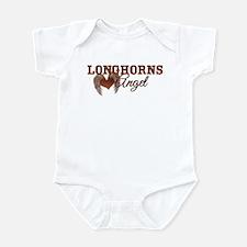 Unique Texas longhorns Infant Bodysuit