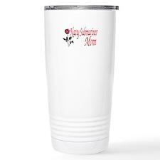 navy submariner mom rose Travel Mug