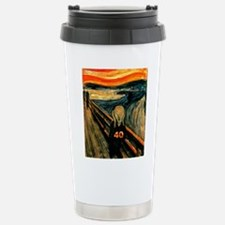 Scream 40th Stainless Steel Travel Mug