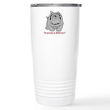 bulldog gifts, Bull Dog, Stainless Steel Travel Mu