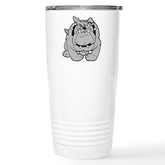 Stainless Steel Travel Mug Bulldog