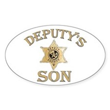 Deputy's Son Oval Decal