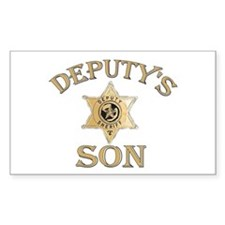 Deputy's Son Rectangle Decal