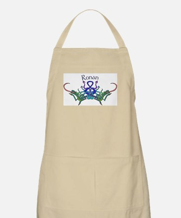 Rpnan's Celtic Dragons Name BBQ Apron