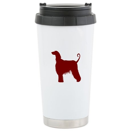 Just Afghan (Red) Stainless Steel Travel Mug