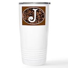 Initial J Coffee Mug Travel Coffee Mug