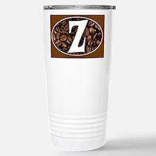 Z Monogrammed Travel Coffee Mug Travel Mug