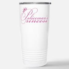 Policeman's Princess Travel Mug