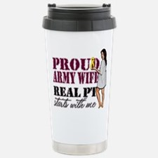 Real PT starts with me! Stainless Steel Travel Mug